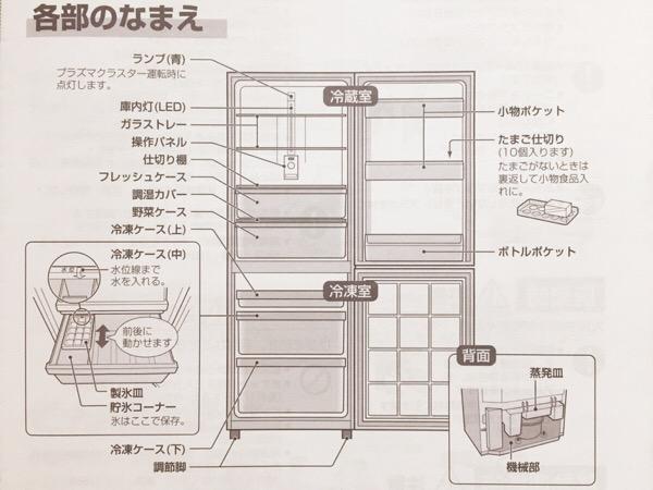 冷凍室が決め手!シンプリストの冷蔵庫
