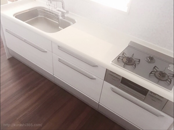 【web内覧会】使いやすさ重視のキッチン!対面造作は収納力×低コスト