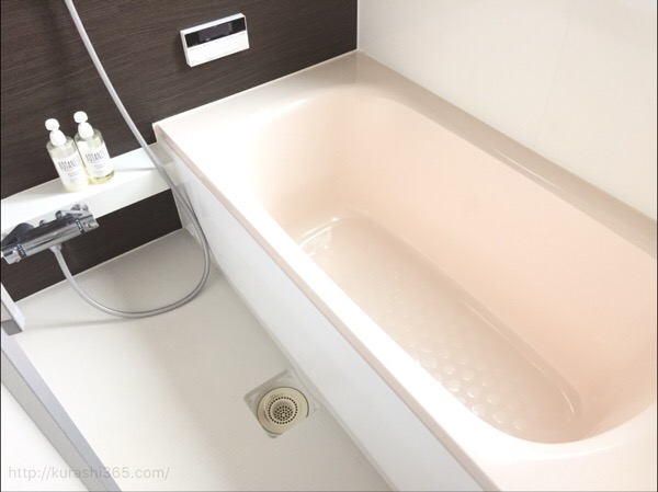 お風呂の排水口のふた、なくして快適